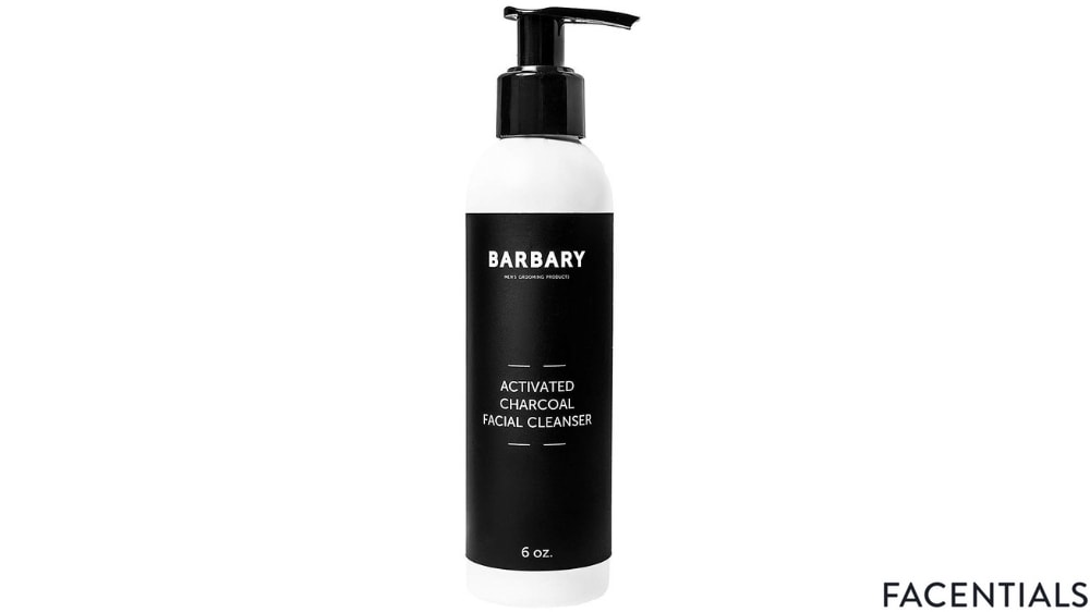 barbary organic face wash with activated charcoal front product photo