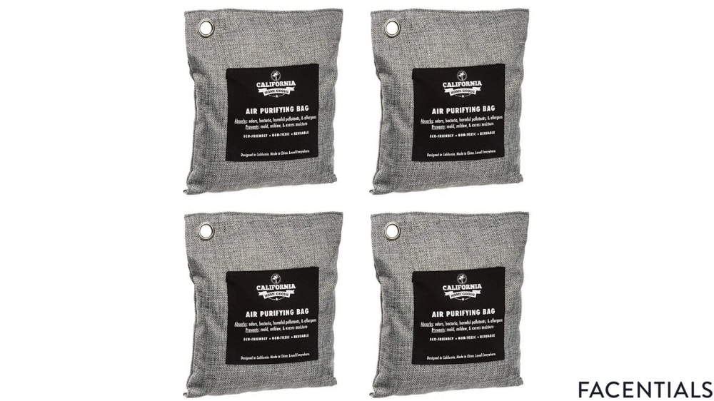 california concepts activated bamboo charcoal air freshener deodorizer odor neutralizer bags front product photo