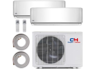 air-conditioner-ductless-mini-split-cooper-and-hunter.jpg product photo