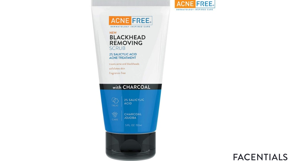 best-charcoal-face-scrub-acne-free.jpg product photo