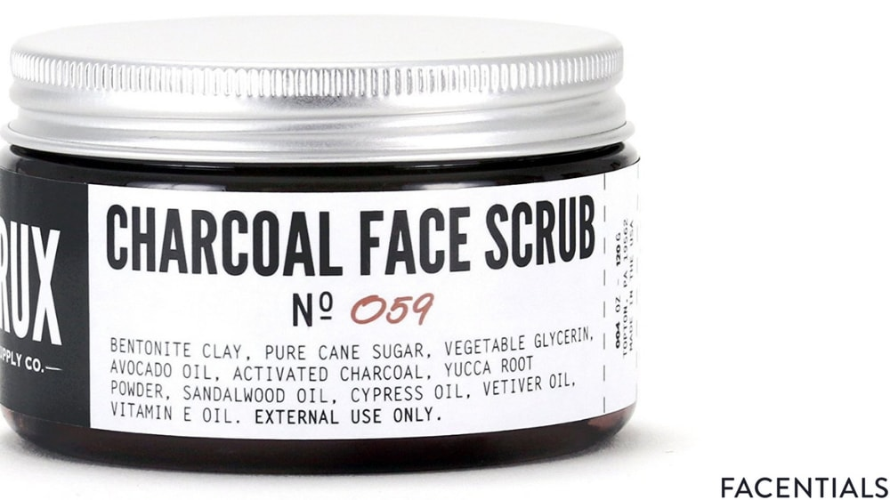 best-charcoal-face-scrub-crux-supply-co.jpg product photo