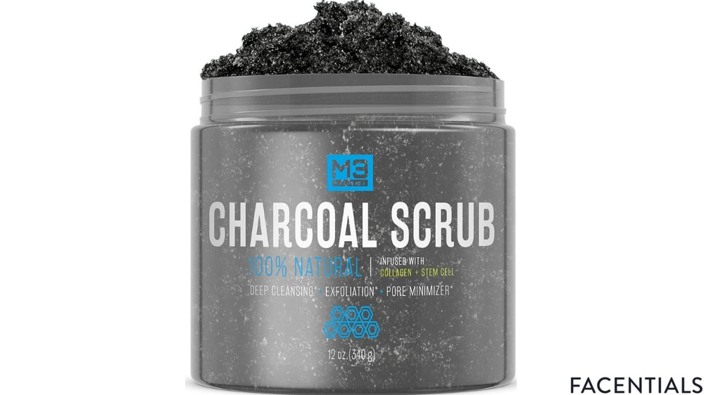 best-charcoal-face-scrub-m3-naturals.jpg product photo
