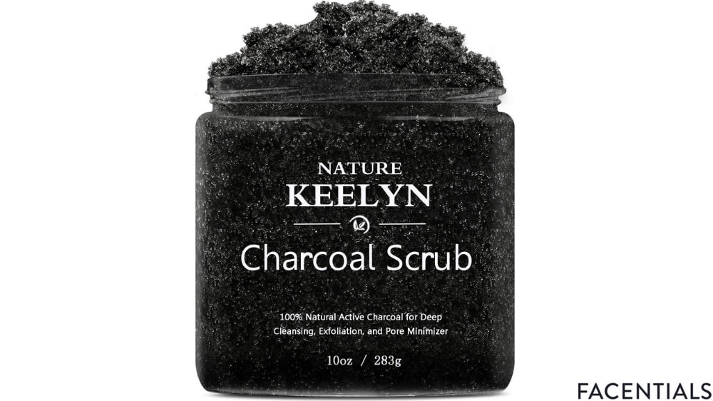 best-charcoal-face-scrub-nature-keelyn.jpg product photo