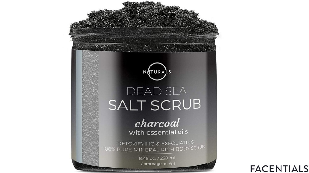 best-charcoal-face-scrub-o-naturals.jpg product photo