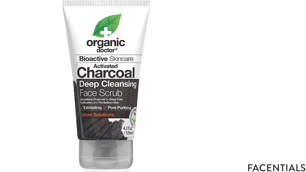 best-charcoal-face-scrub-organic-doctor.jpg product photo