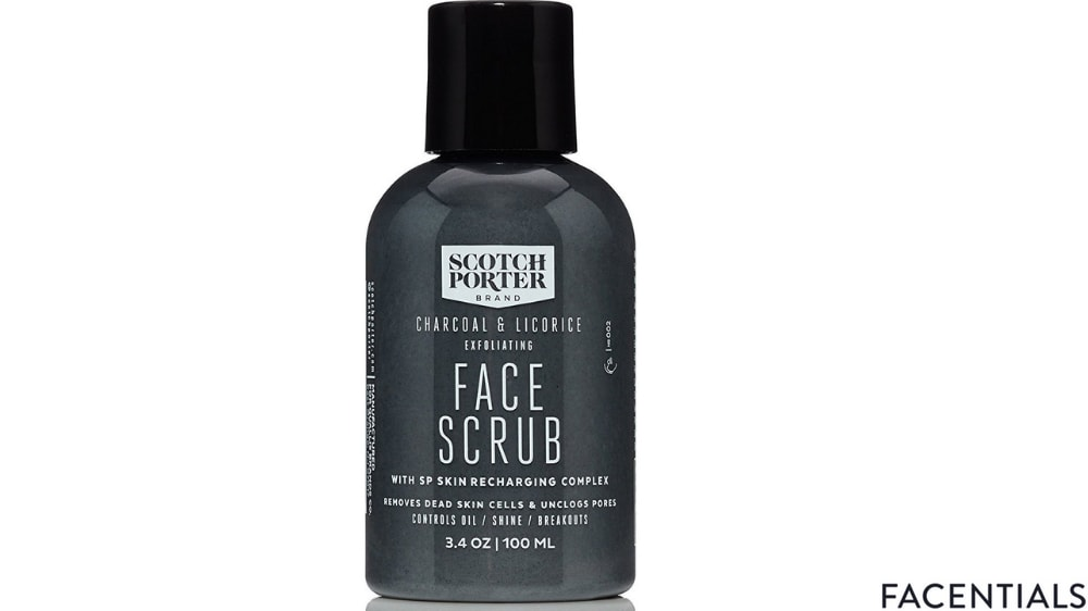 best-charcoal-face-scrub-scotch-porter.jpg product photo