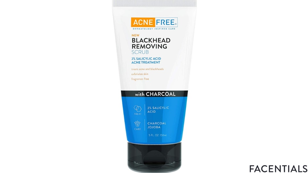 charcoal_face_wash_acne_free.jpg product photo