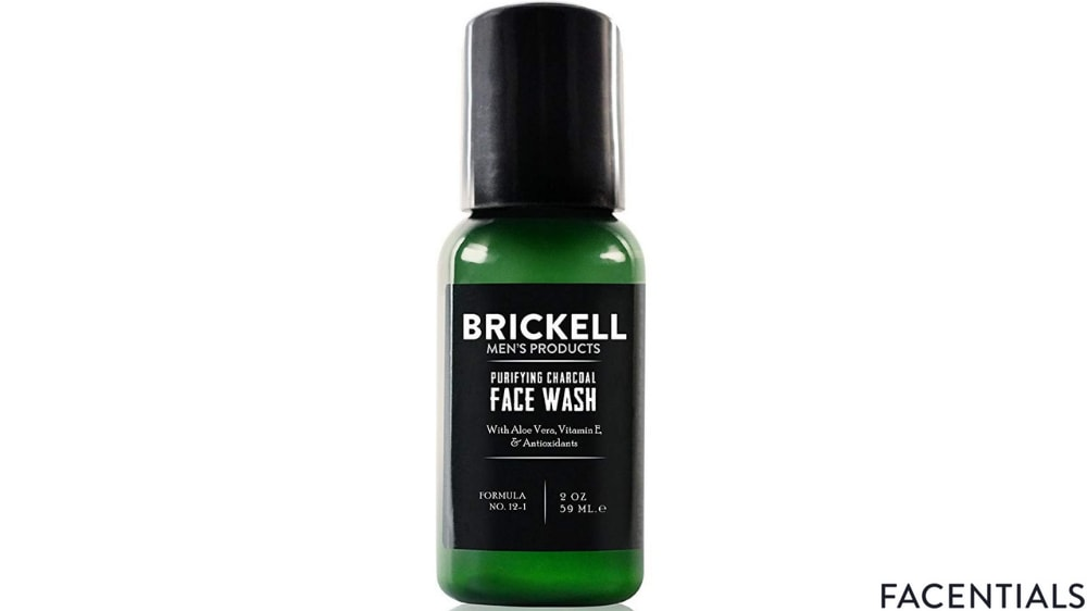 charcoal_face_wash_brickell.jpg product photo