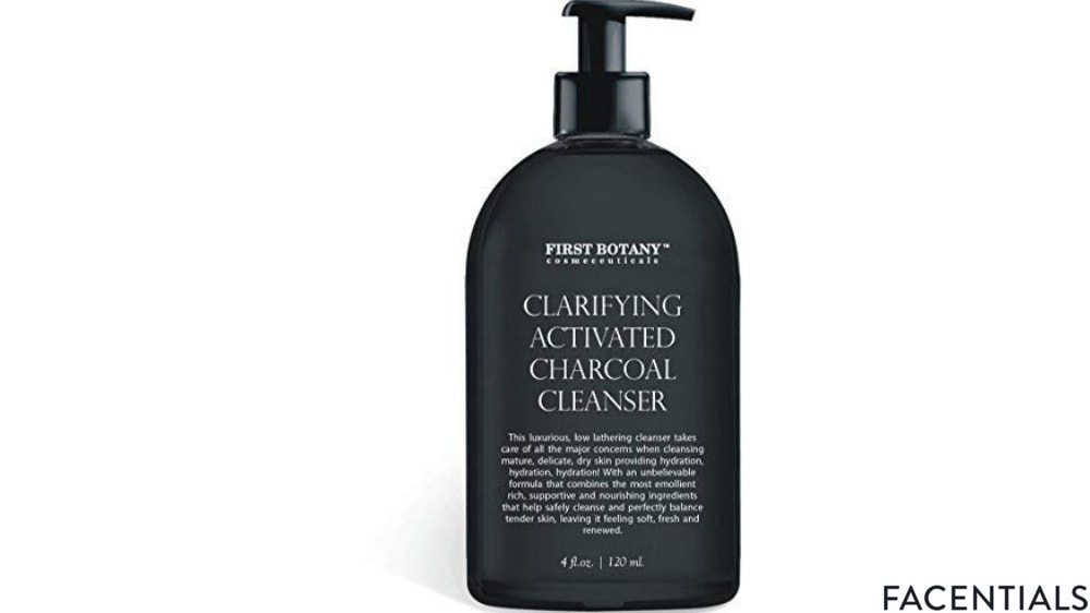 charcoal_face_wash_first_botany.jpg product photo