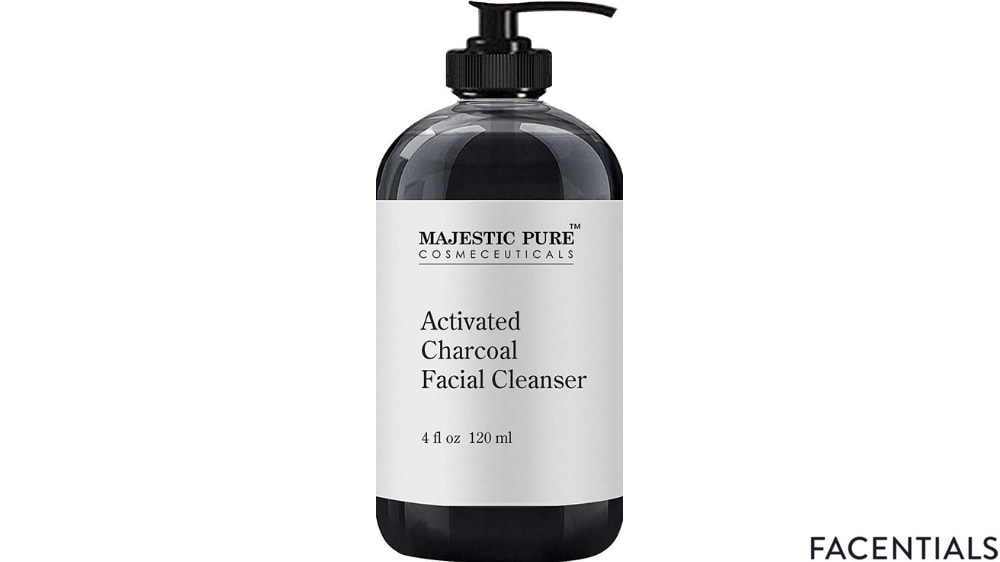 charcoal_face_wash_magestic_pure.jpg product photo