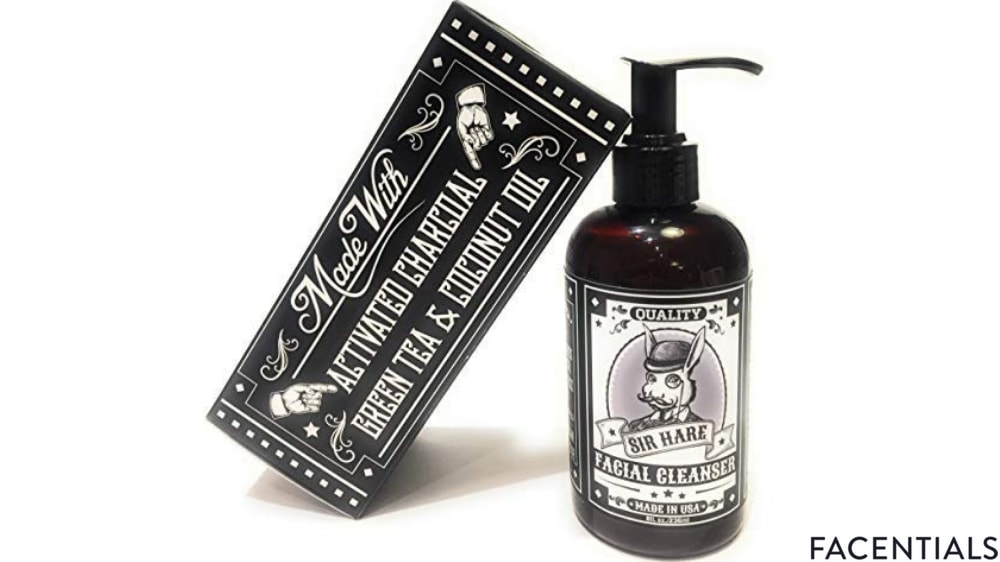 charcoal_face_wash_sir_hare.jpg product photo