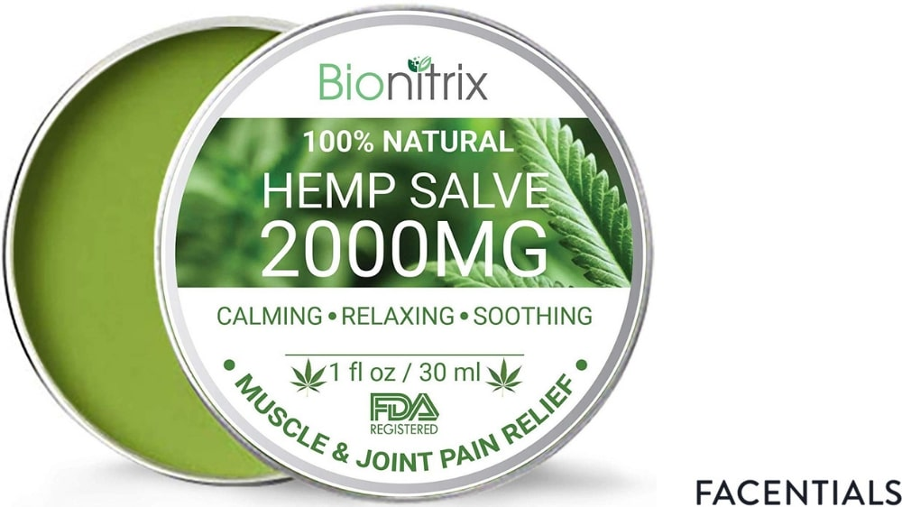cbd-skincare-bionitrix-hemp-salve product photo