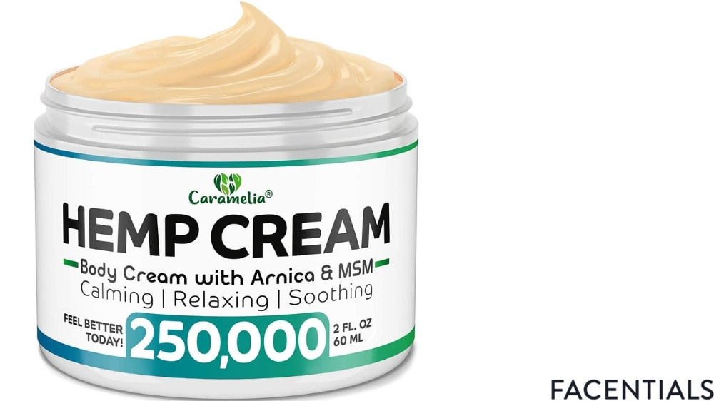 cbd-skincare-caramelia-hemp-cream product photo