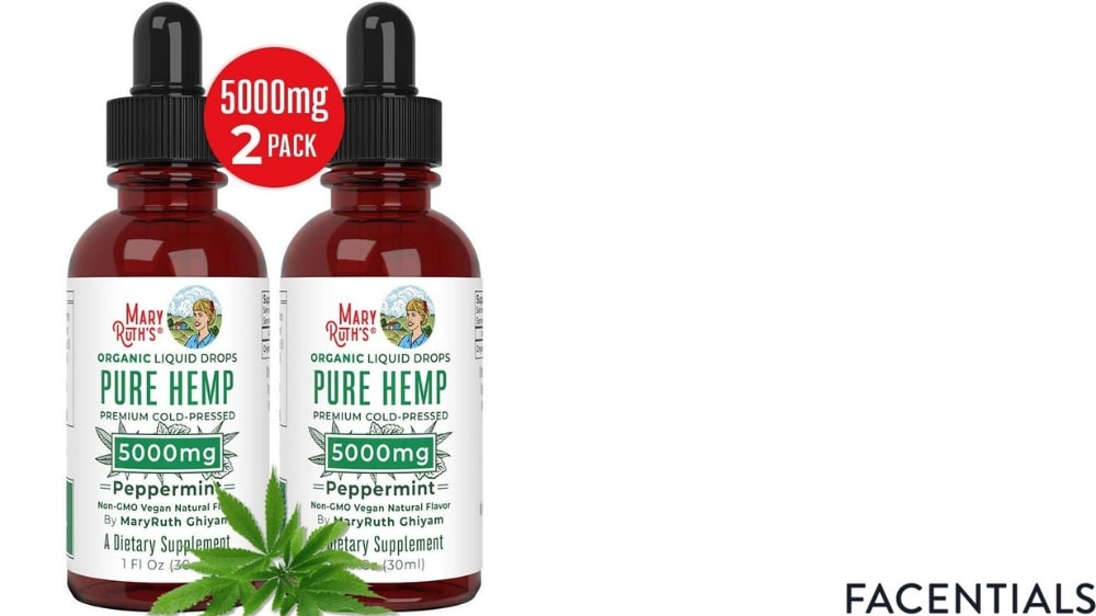 cbd-skincare-maryruth-organics-pure-hemp-oil product photo