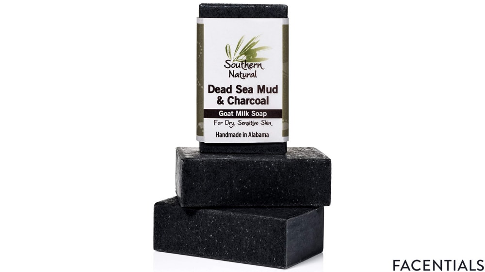 southern natural activated charcoal soap bars product photo