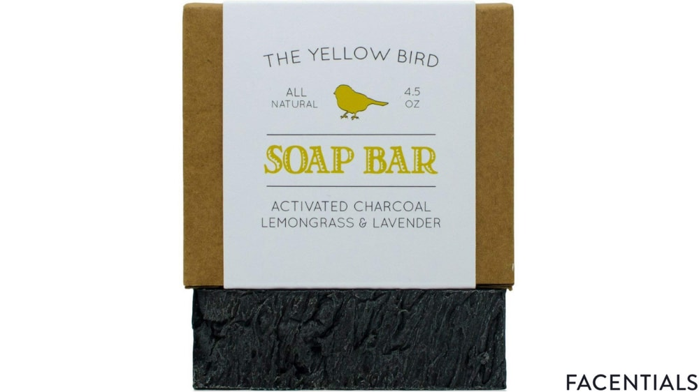 charcoal-face-soap-the-yellow-bird.jpg product photo