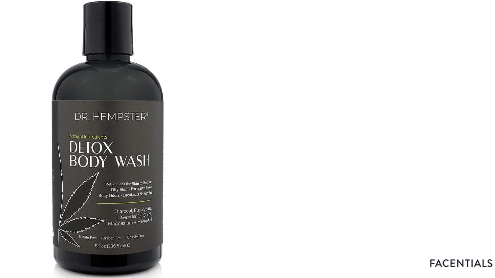charcoal-body-wash-dr-hempster product photo