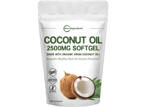natural-seasonal-allergy-relief-micro-ingredients-coconut-oil-softgel product photo