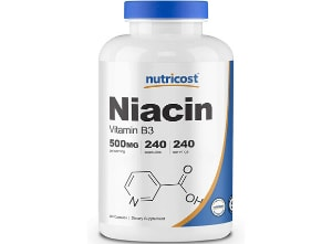 niacin-nutricost product photo