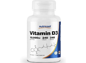 vitamin-d3-nutricost product photo